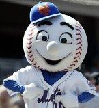 New York Mets mascot Mr. Met