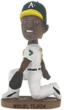 Miguel Tejada as an Athletic bobblehead